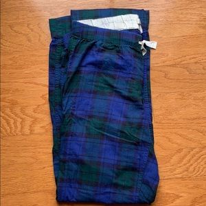 J. Crew Women's Flannel Pajama Pants